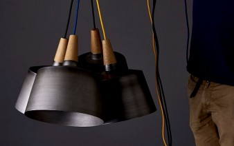 black-steel-timber-light