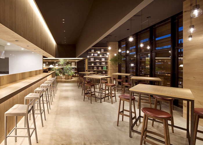 Restaurant Interior Natural : Japanese project for italian restaurant in tokyo