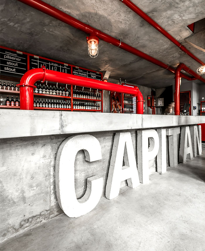 Capitan Central Brewery Vital And Memorable Dining Space