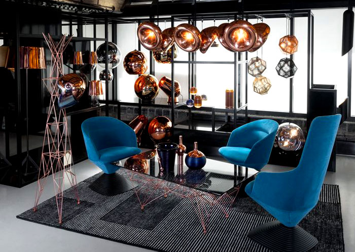 contemporary-copper-pendant-floor-table-lights-tom-dixon