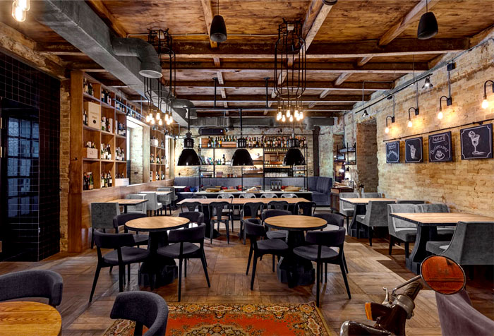 Bottega Wine And Tapas By Kley Design Studio InteriorZine
