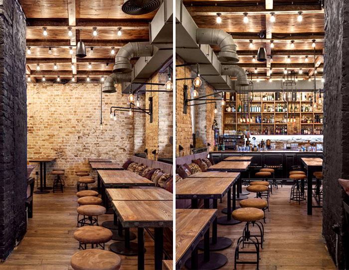 Bottega wine and tapas by kley design studio interiorzine
