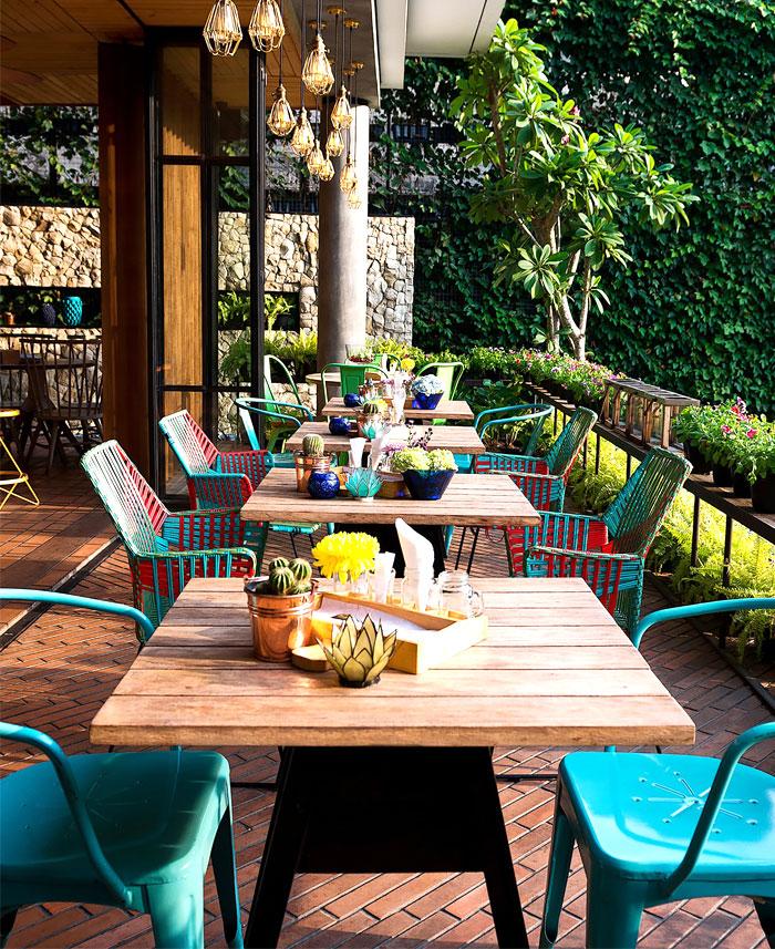 Tropical resort restaurant lemongrass by einstein