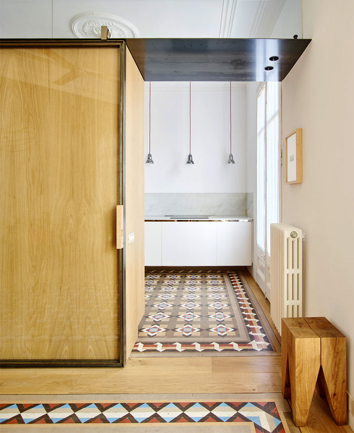 Modern Apartments Barcelona: Small Apartment Turned Into Modern Functional Home