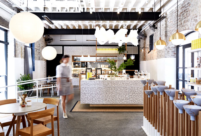 The rabbit hole organic tea bar by matt woods interiorzine