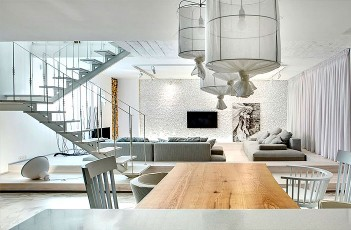 Trendy Duplex Apartment by FORM Bureau