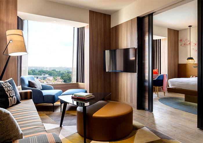 Hotel Renovation Shows The Tendencies Of Contemporary