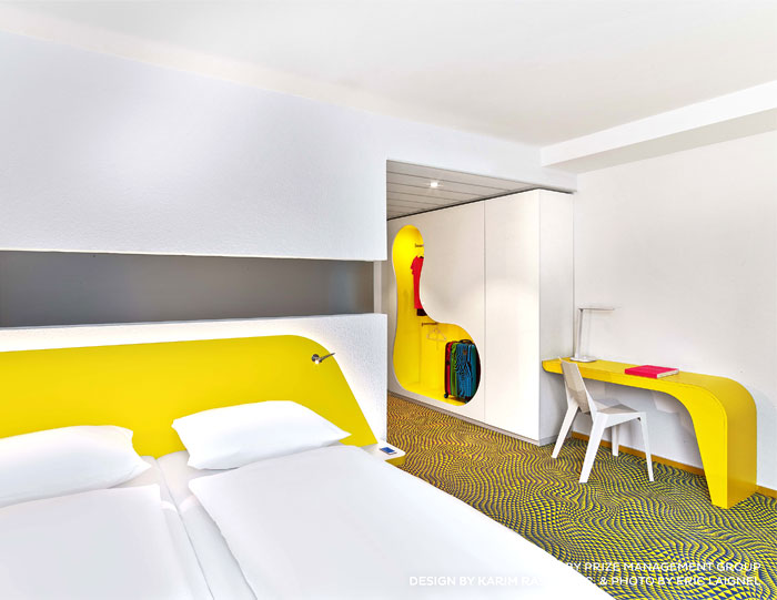 Bonaldo at the new prizeotel hannover interiorzine for Hotel hannover design