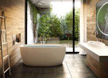 modern-bath-greenery