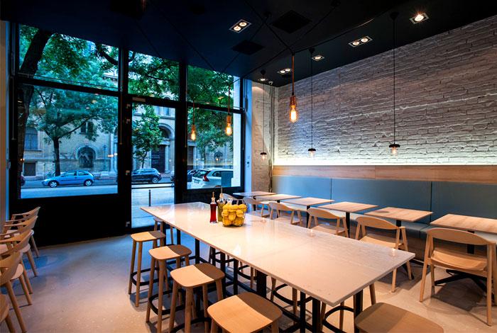 Greek Restaurant Interior Design : Greek cuisine restaurant decor by gasparbonta interiorzine