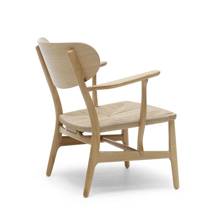 Hans J Wegner S CH22 Lounge Chair Produced By Carl Hansen Son Interio