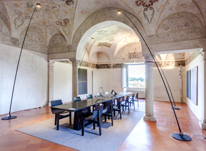 Eclectic mixture of historical heritage and trendy for Benedini mantova