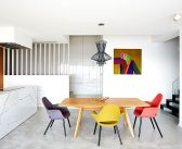 Triplex Apartment in Prague Inspired by American Mid-Century Interiors