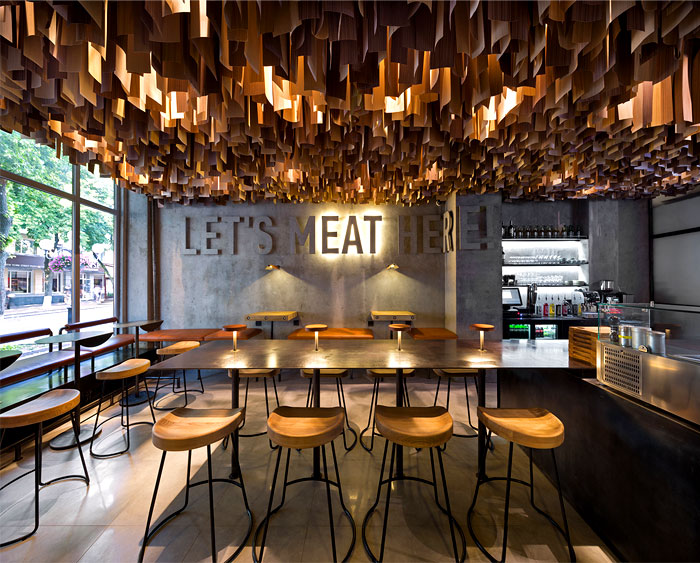 New Urban Restaurant by YOD Design Studio InteriorZine : burger restaurant yod design studio 7 from interiorzine.com size 700 x 563 jpeg 135kB