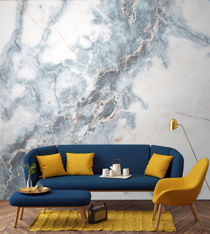 Elegant Wallpaper For Wall: Elegant Expensive-Looking Wall Design By Murals Wallpaper