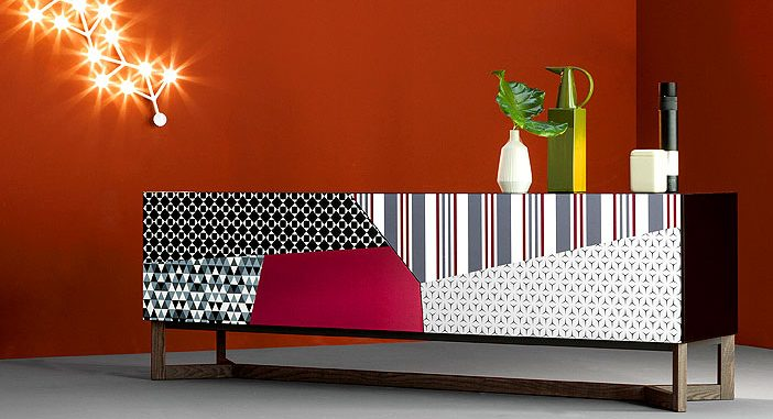 Games of Perspective and Kaleidoscopic Patterns at Bonaldo's New Products