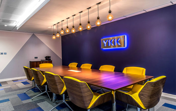 redesign ykk office space by dv8 designs interiorzine