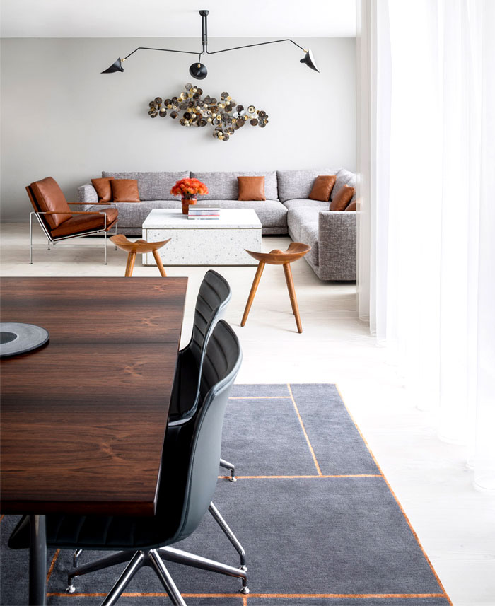 Copenhagen Apartment By Studio David Thulstrup Interiorzine