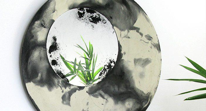 LIQUID Wall Mirrors by Taeg Nishimoto