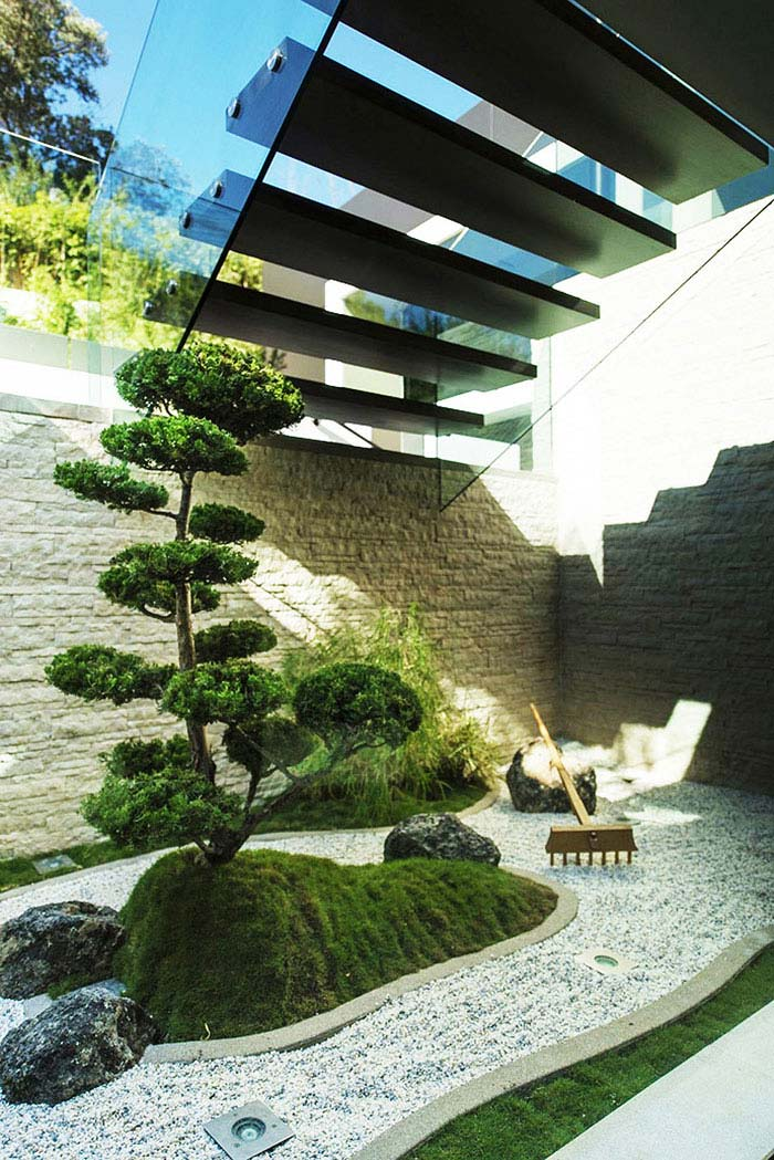 breathtaking modern zen gardens | Zen Gardens & Asian Garden Ideas (68 images) - InteriorZine