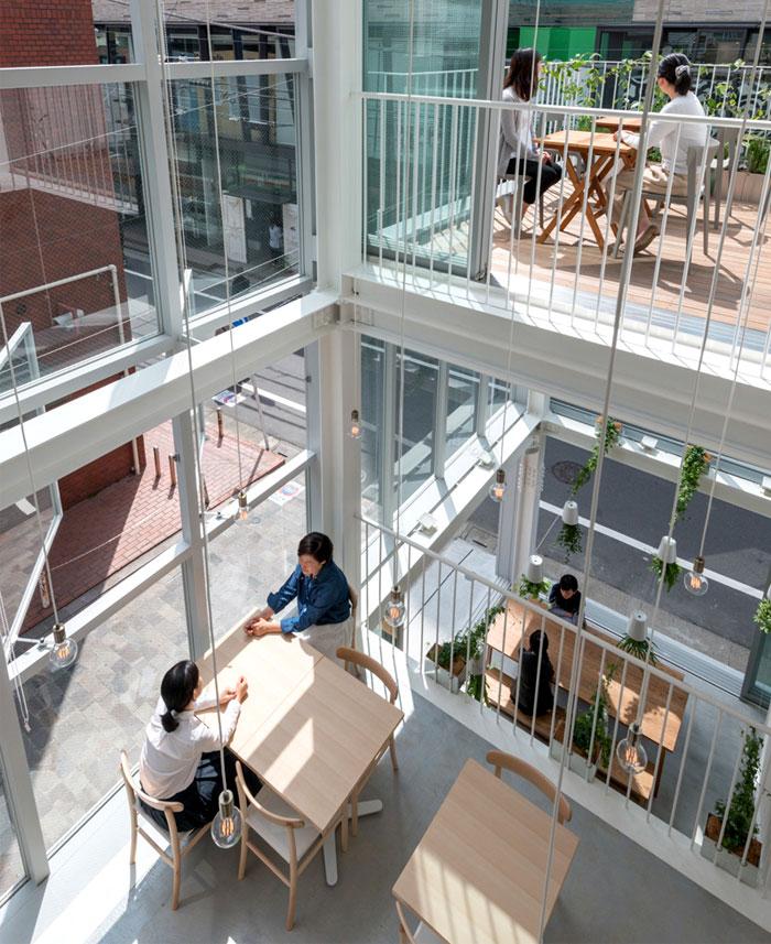 All Glass Soup Restaurant In Tokyo Interiorzine