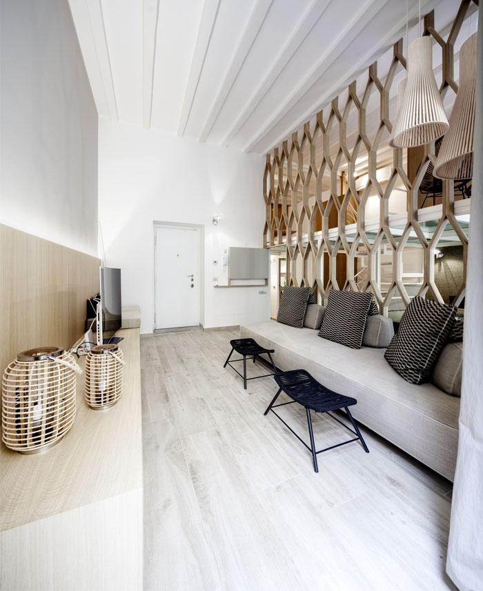 Three Level Apartment in Milan by Archiplan Studio