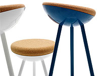Family of Stools by Note Design Studio