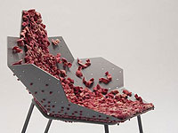 Unique Lounge Chair that Stimulating the Senses