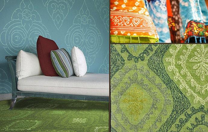 Bengal motive carpets