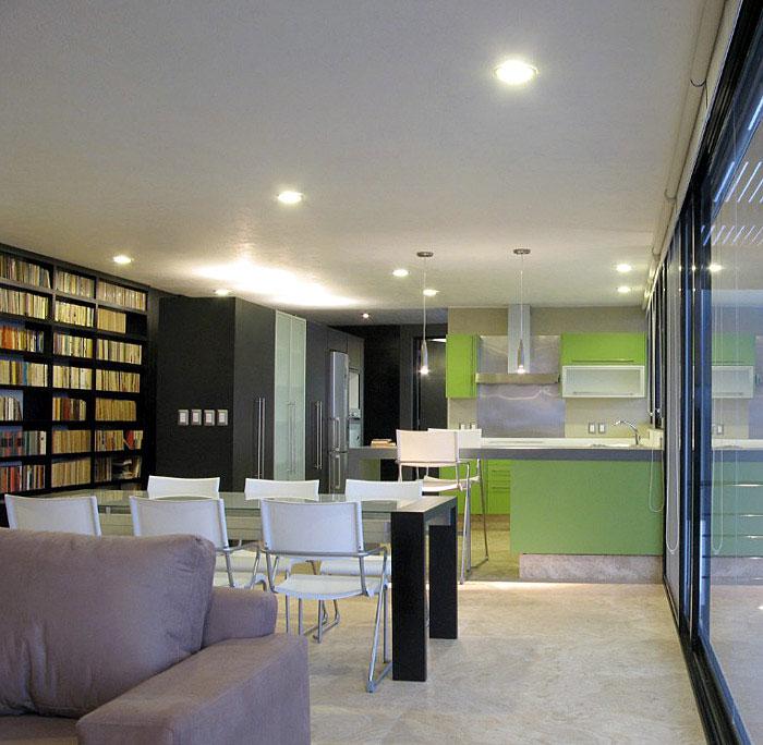 green-kitchen