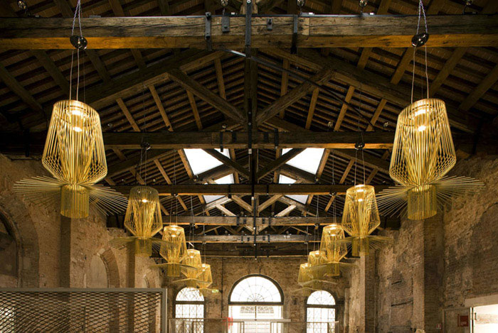 sculptural lamps