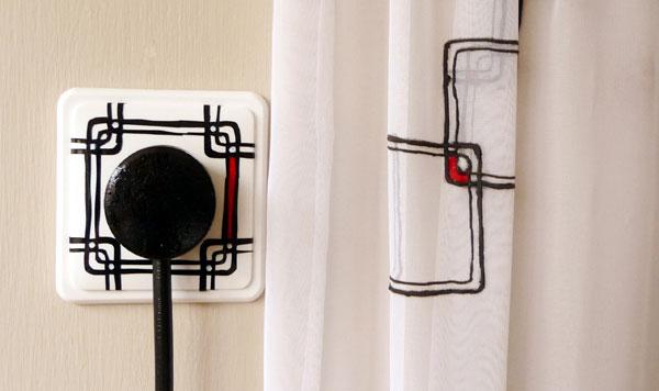 wall socket interior design