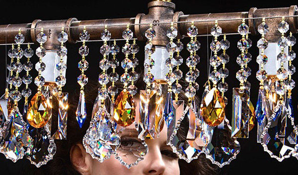 crystal ornaments chandelier