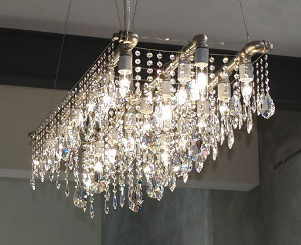 glamour chandelier