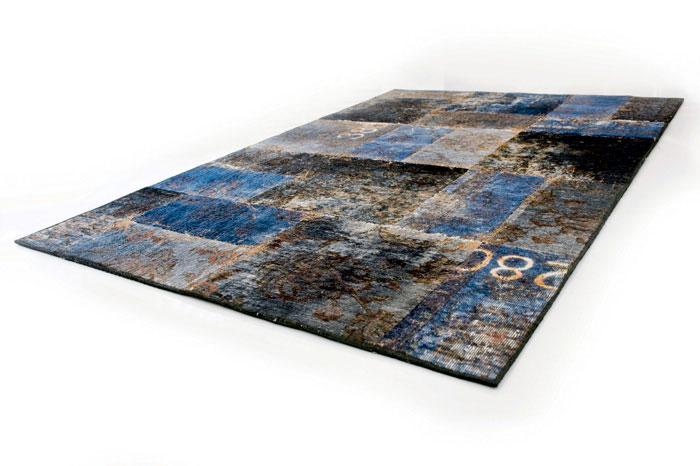 new sophisticated patchwork carpet