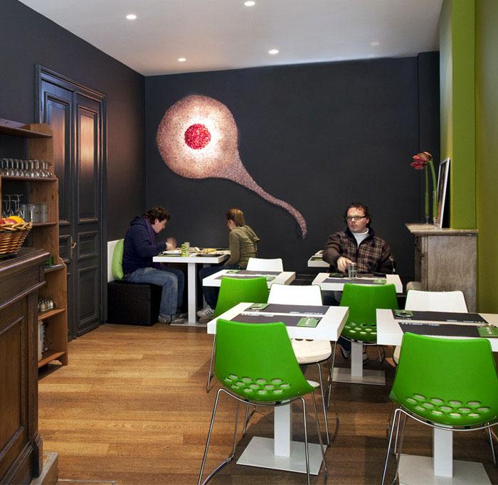 interior coffe lighting