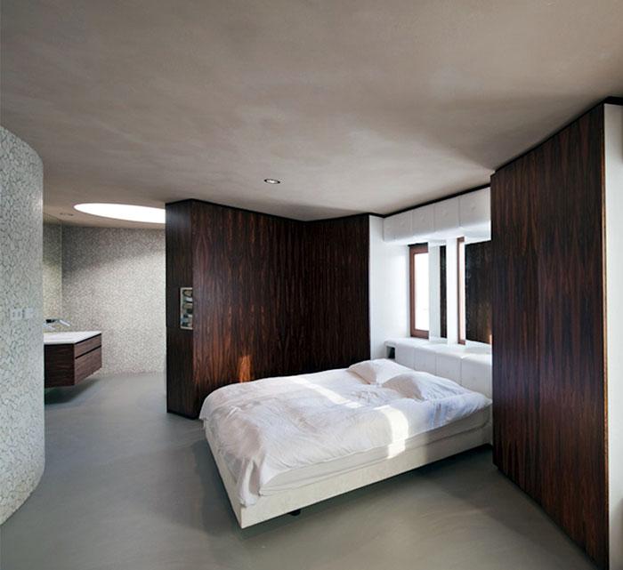unique bedroom interior