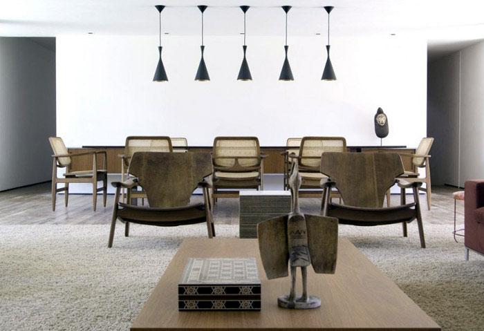 brazilian modern interior
