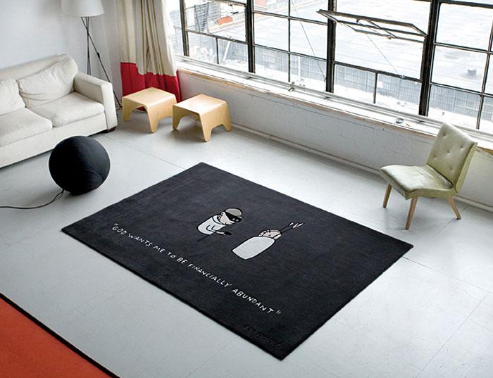 cartoon rug