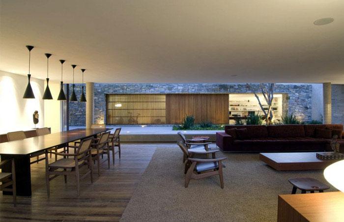 open air philosophy concept house