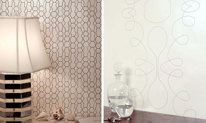 traditionally contemporary wallpaper