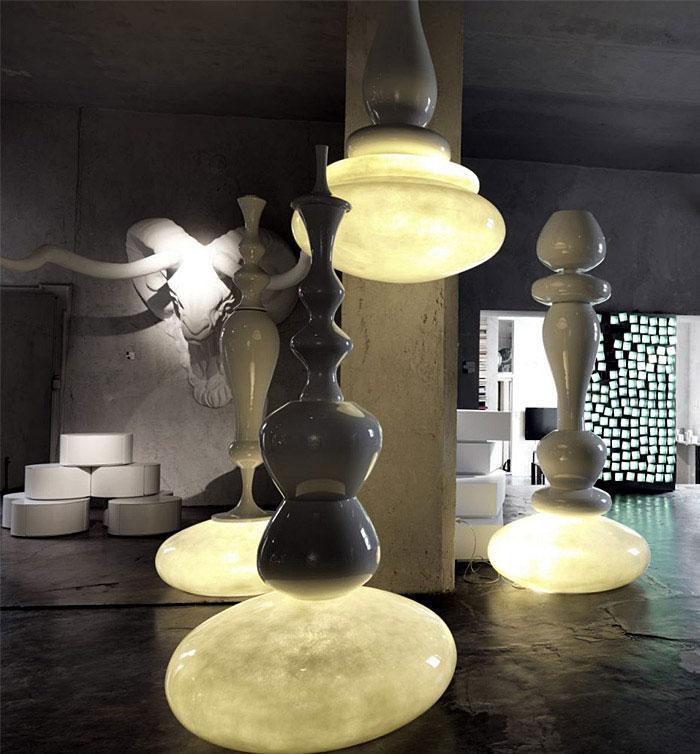 lucilla lamp iinterior