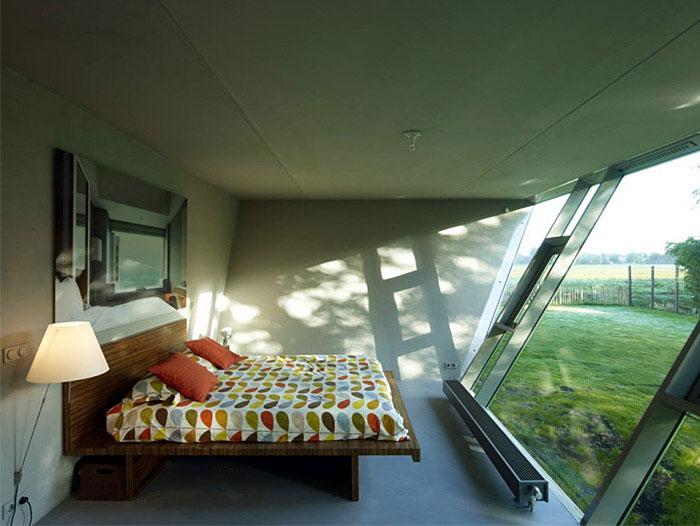bedroom interior amstelveen house