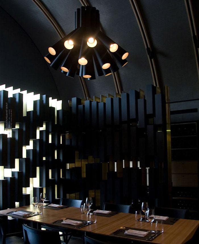 wine bar lighting