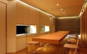 stylish apartment dining room 338x212