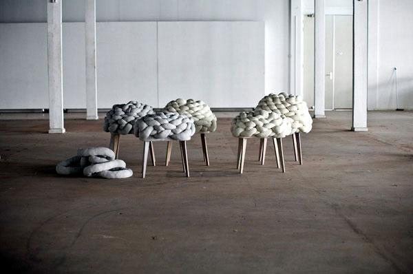 modern textile furniture