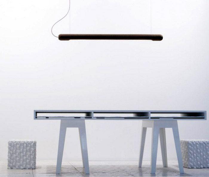 product design truncheons lamp