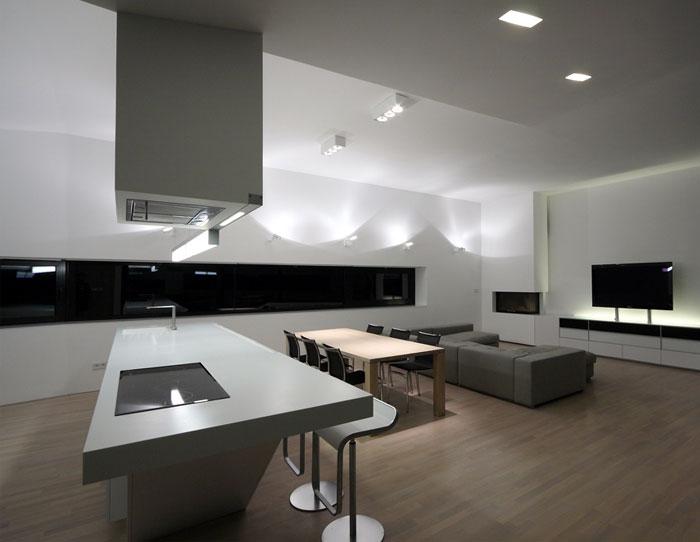 stylish homes living night