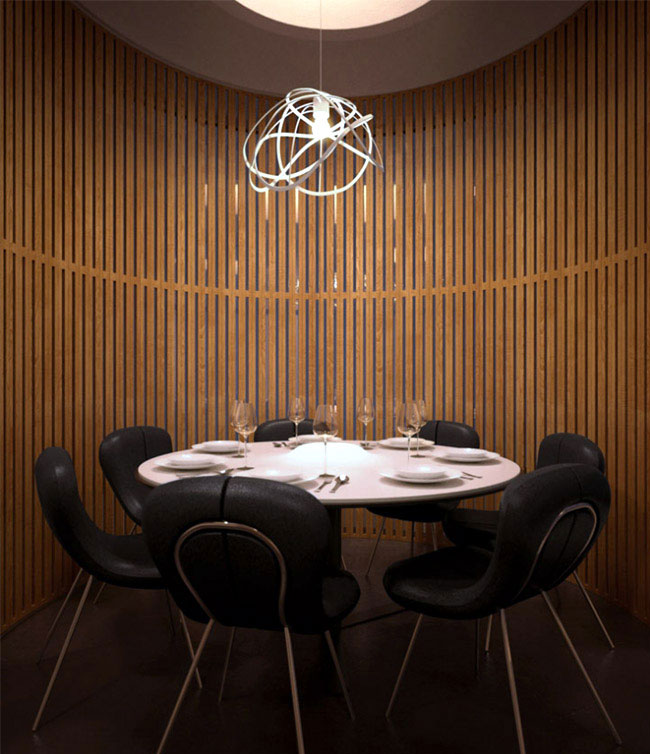 pipe house dining room