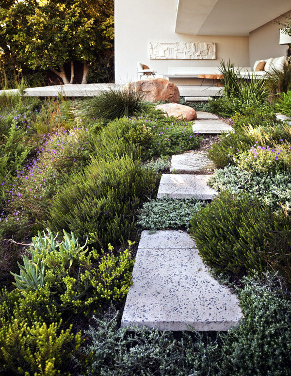 bridle road residence greenery